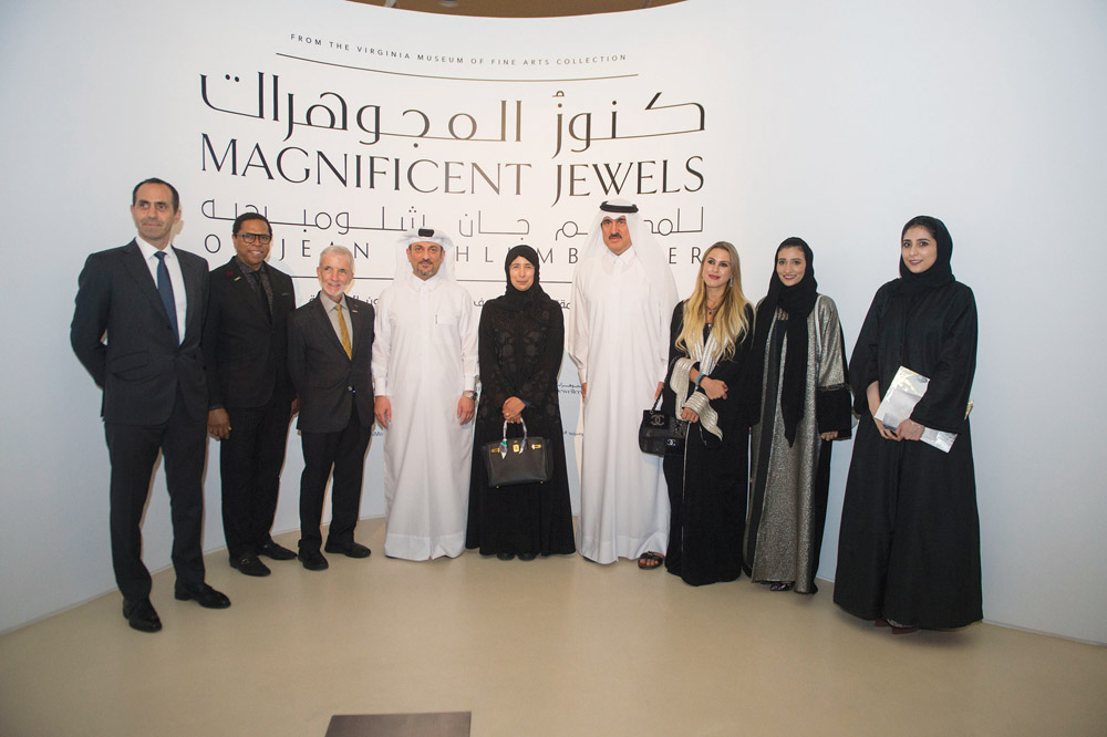 National Museum of Qatar showcases dazzling jewellery by iconic French designer