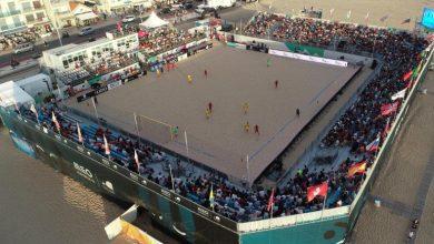 World-class venues taking shape for first ANOC World Beach Games Qatar 2019