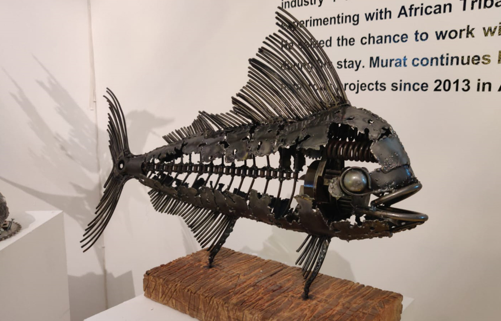 First Scrap Art Exhibition opens at Souq Waqif