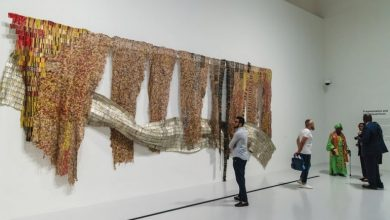 El Anatsui's maiden Mideast solo exhibition opens at Mathaf
