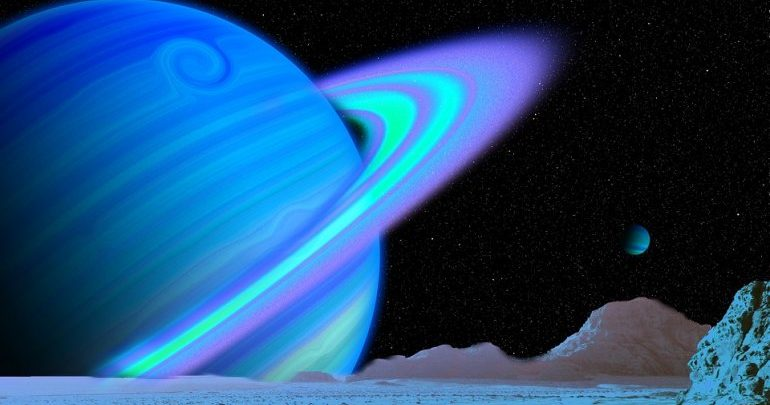 Ice giant to approach Earth on Monday