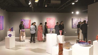 Various art schools in Katara exhibitions