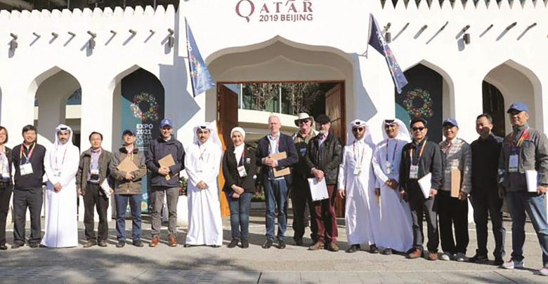 Qatar Pavilion wins two awards at Expo Beijing 2019