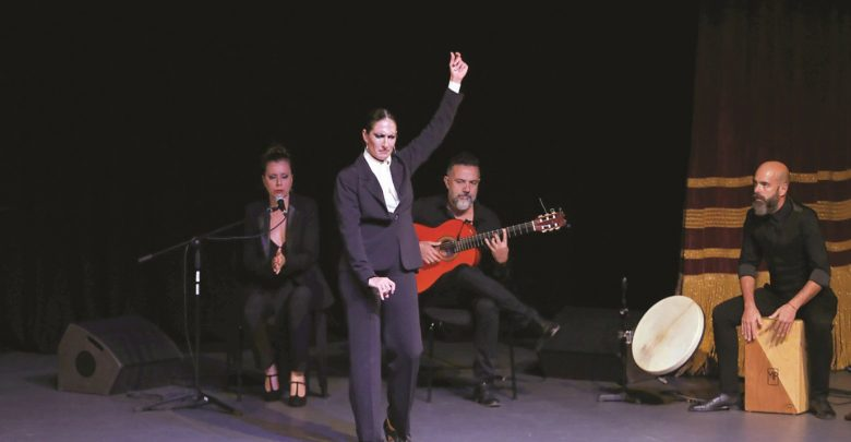 The performance of flamenco in «Katara» .. A window on the culture of Spain