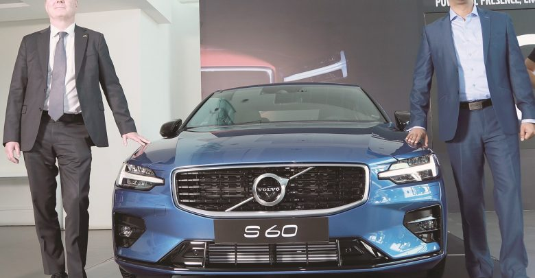 Domasco unveils new Volvo S60 sports sedan
