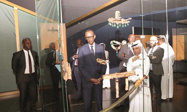 Rwanda President visits NMoQ, MIA