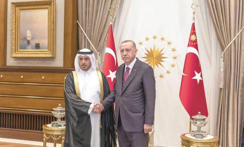 Turkey, Qatar discuss strategic ties