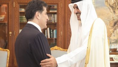 Photo of Amir meets president of Kurdistan region of Iraq