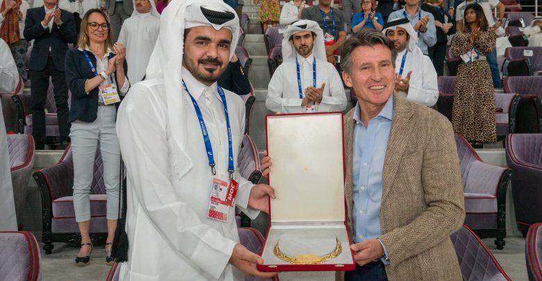 Amir receives IAAF Golden Order of Merit
