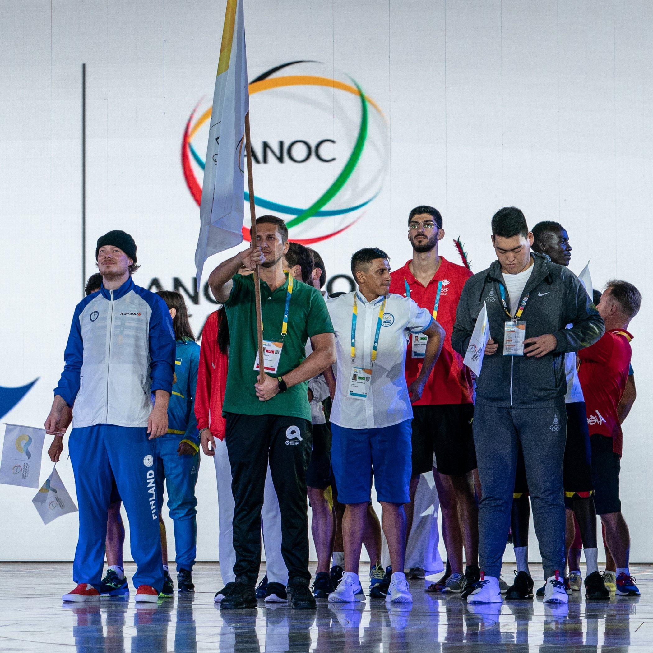 Sheikh Joan opens World Beach Games