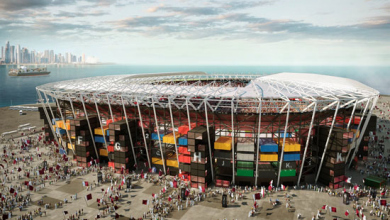 Design released for Ras Abu Abboud Stadium