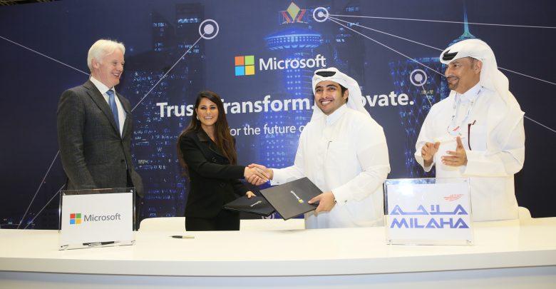 Milaha partners with Microsoft to build smart logistics platform