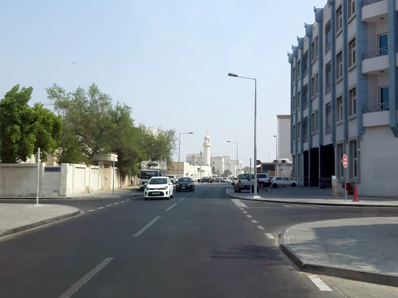 Completion of upgrading works on Tihama Street and Al-Mansour Street in Old Airport Area