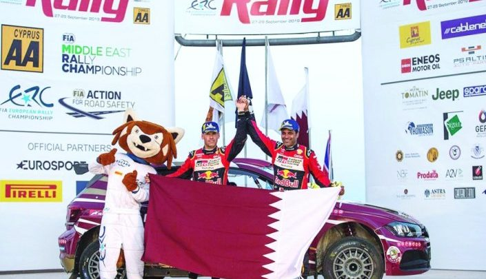 Qatari dominance in the Middle East Rally