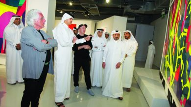Photo of KAWS' first Middle East museum show opens at Doha Fire Station