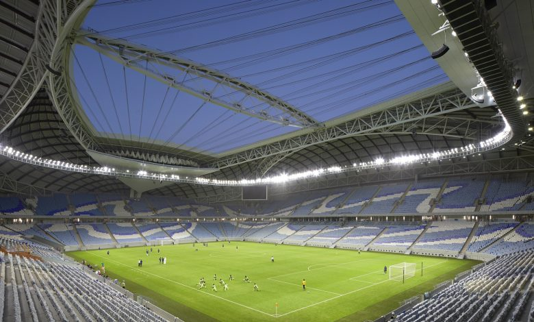 How does the cooling system in Al Janoub Stadium work?