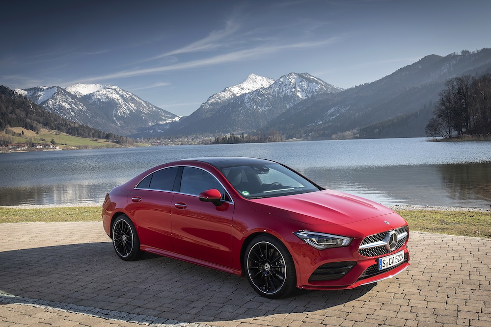 Nasser Bin Khaled Automobiles introduces the new Mercedes-Benz CLA Coupé in Qatar