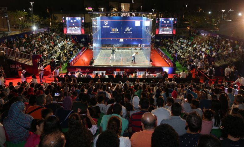 Tomorrow squash World Cup kicks off and preparations are complete