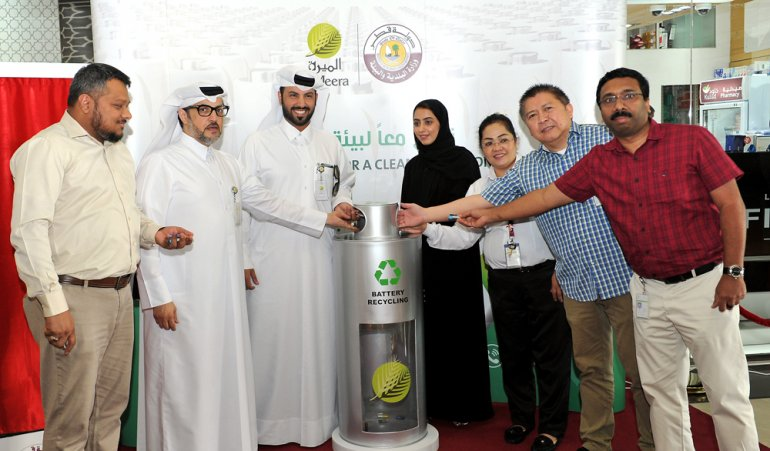 Al Meera launches initiative to recycle used batteries