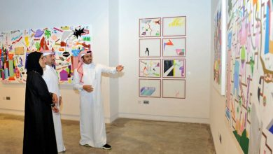 Photo of '40 Minus' exhibition features Qatari artists