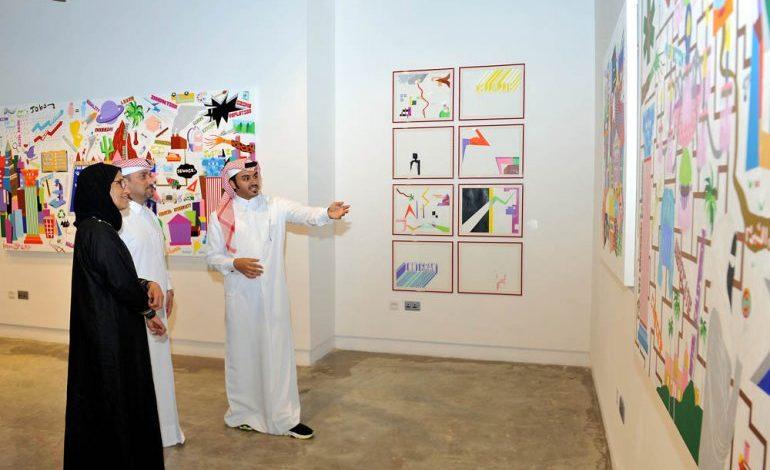 '40 Minus' exhibition features Qatari artists