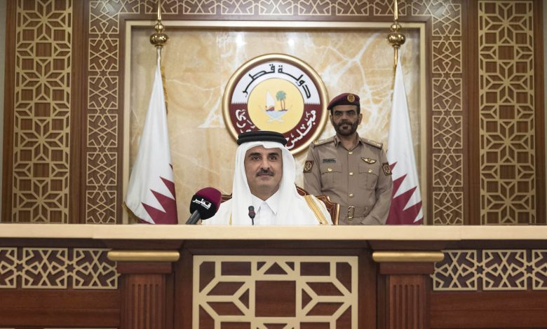 HH The Amir Inaugurates the 48th Ordinary Session of Shura Council