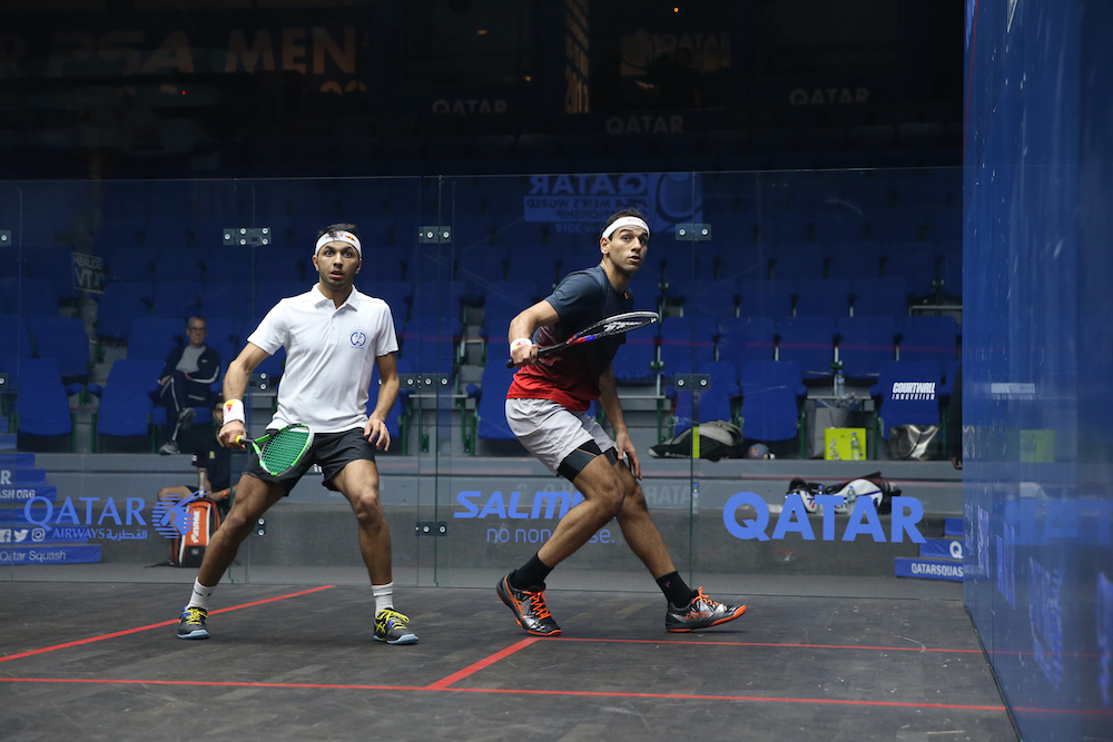 Training Session - Pre PSA Men's World Championship Doha 2019