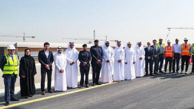 Photo of Ashghal Opens Saturday First Flyover Bridge at Umm Lekhba (Landmark) Interchange