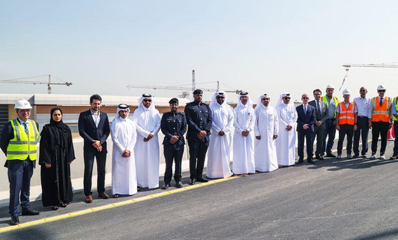 Ashghal Opens Saturday First Flyover Bridge at Umm Lekhba (Landmark) Interchange