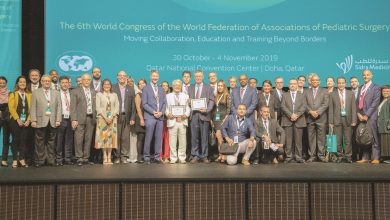 Photo of Over 800 surgeons attend world pediatric congress in Doha