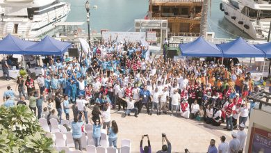 Photo of UDC organises The Pearl-Qatar's seabed clean-up campaign