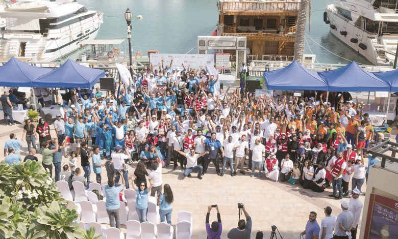 UDC organises The Pearl-Qatar's seabed clean-up campaign
