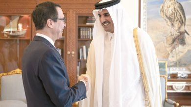 Photo of Amir meets US Secretary of the Treasury