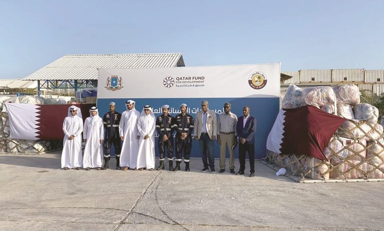 First batch of Qatari urgent aid arrives in Mogadishu