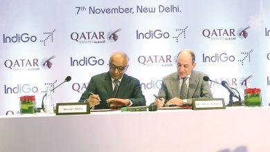 Photo of Qatar Airways, IndiGo sign codeshare agreement