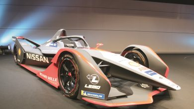Photo of Nissan's Formula E race car gets new kimono-themed look