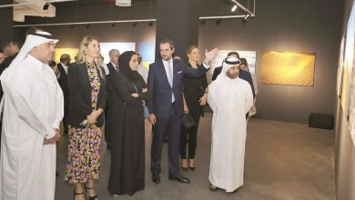 Photo of Prince Nikolaos opens solo exhibition at Katara