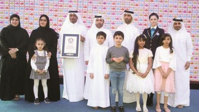 Photo of Wifaq in Guinness World Records for launching largest bulletin board