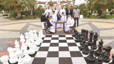 Photo of Chess playgrounds project launched in public parks