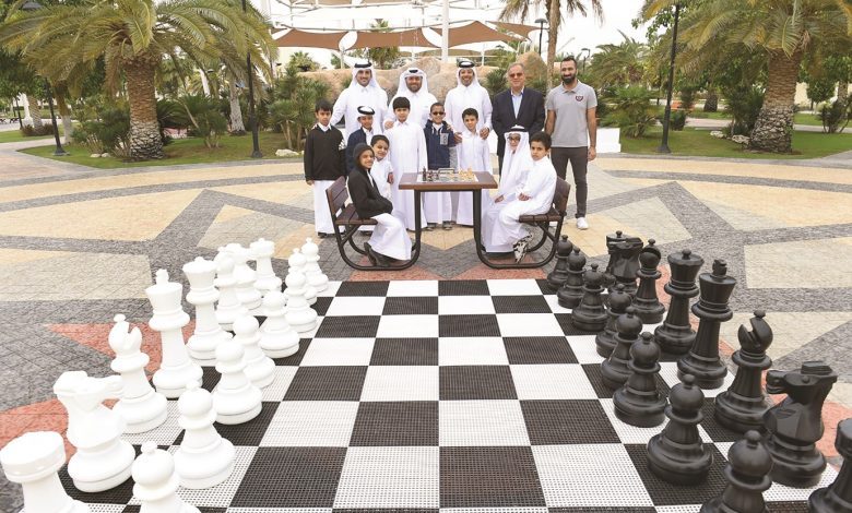 Chess playgrounds project launched in public parks