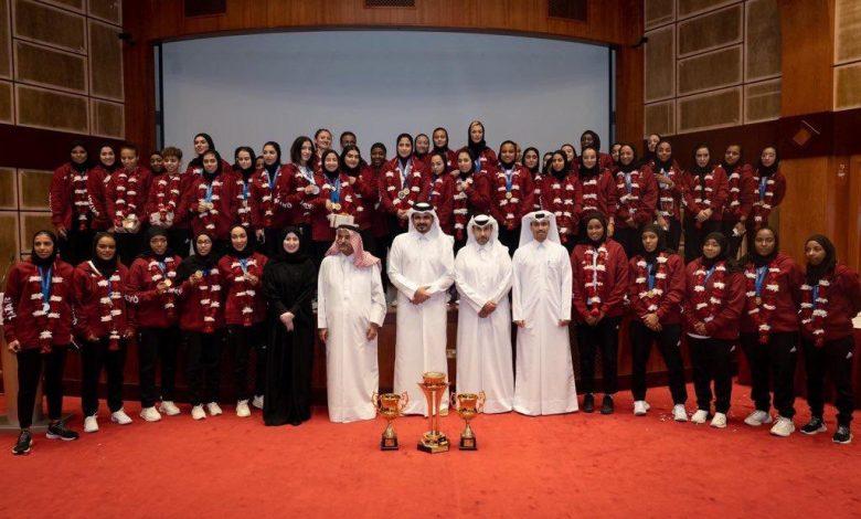 Sheikh Joaan honours Team Qatar athletes