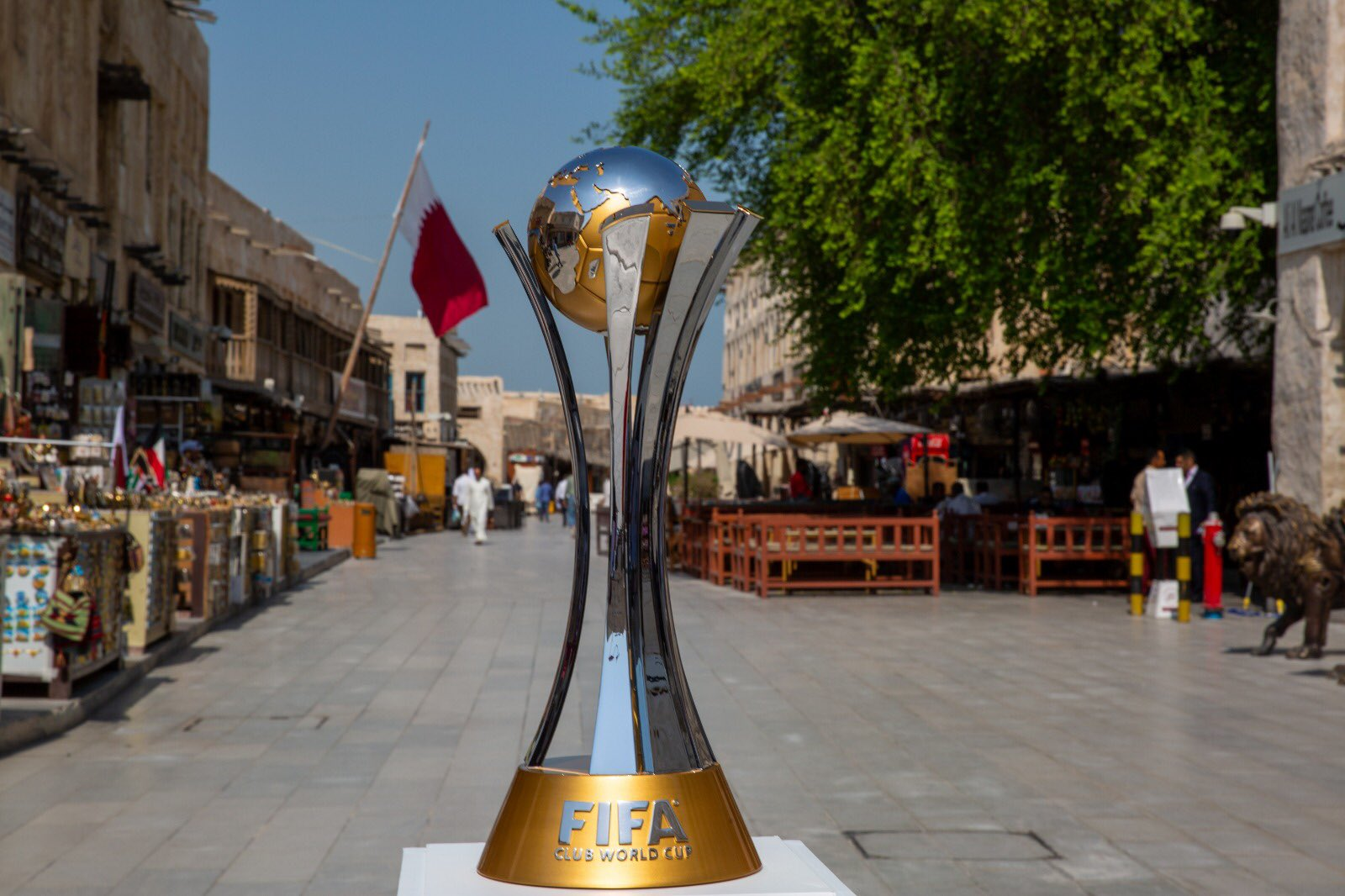 Souq Waqif celebrates the FIFA Club World Cup