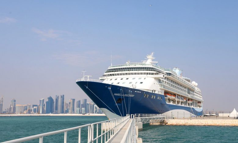 Doha Port welcomes luxury cruise liner Marella Discovery