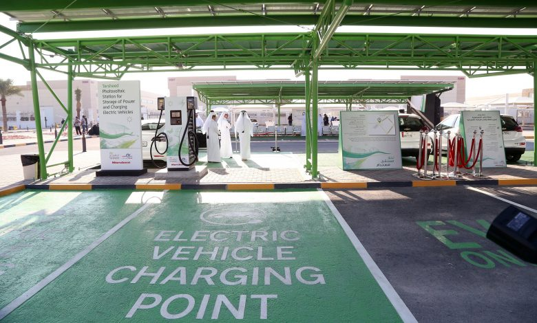 First solar-powered car charging station opens