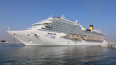 Doha Port welcomed Costa Diadema, on her maiden call to Qatar