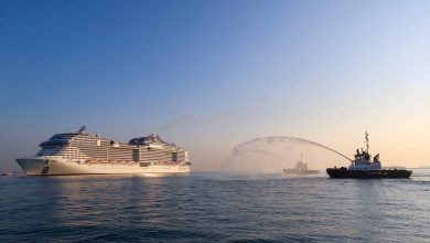 Photo of Qatar welcomes another mega ship with 5,800 aboard