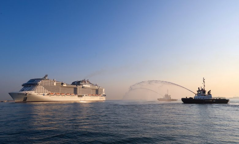 Qatar welcomes another mega ship with 5,800 aboard