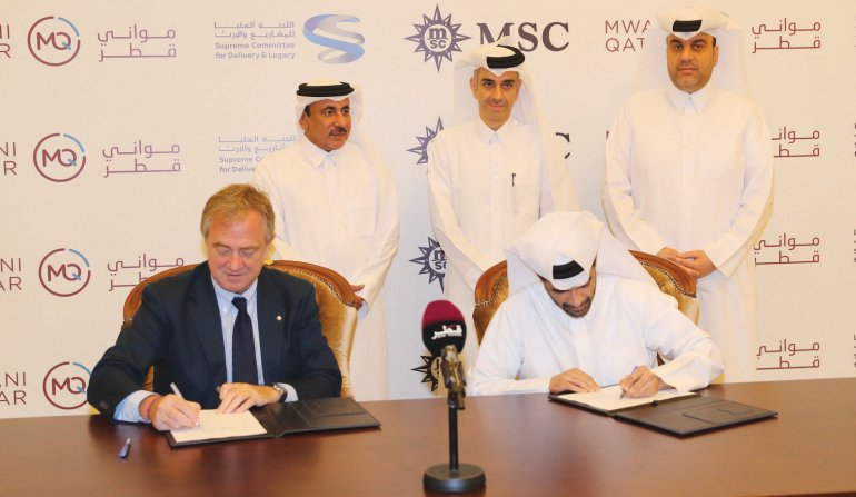 SC signs pact with MSC Cruises to charter cruise liners for FIFA Qatar 2022