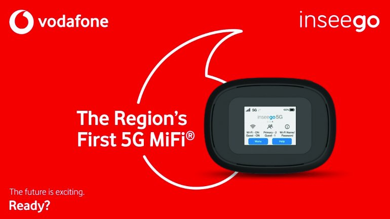 Vodafone Qatar premieres region's first 5G MiFi mobile hotspot with Inseego