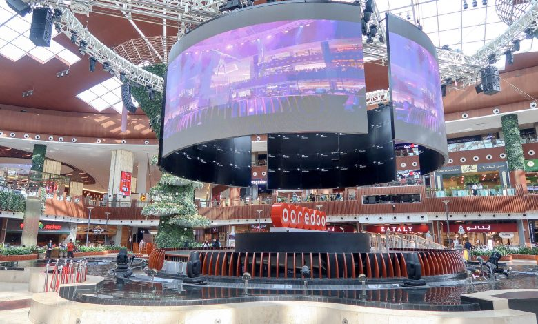 Gulf Cup 2019 matches live on the giant screens at the Oasis Stage